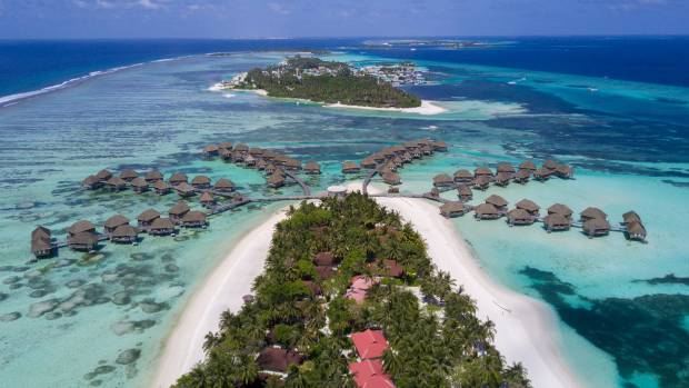 It's thought the Maldives could be one of the first countries in the world to disappear because of climate change.