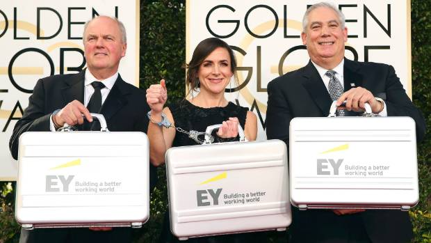 Globally Ernst & Young sponsors many awards, including the Golden Globe awards.