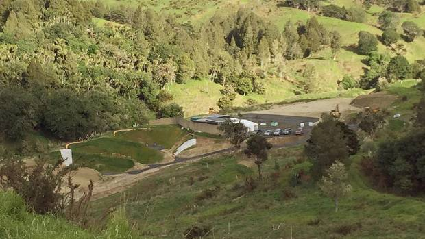 A stream running directly behind ranges are among residents  concerns over lead leaching into groundwater from the ...
