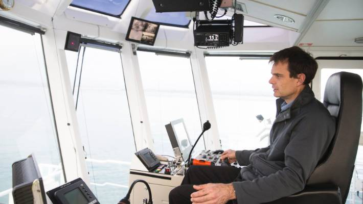 Captain's unshaken ability to pilot tugboats defies early