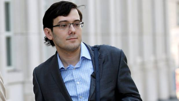 """Pharma Bro"" Martin Shkreli has been jailed after a judge said he was a danger to society."