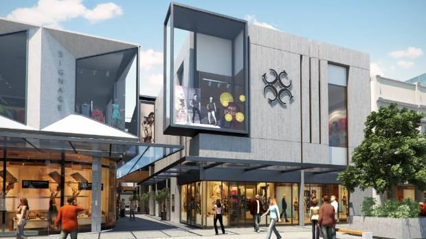 An artist's impression of The Crossing in central Christchurch.