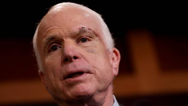 Donald Trump Tweet-Rages After John McCain Kills Obamacare Skinny Repeal