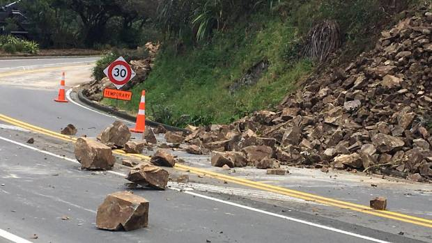 Wellington 39 s ngaio gorge could be closed till next week as for Landscaping rocks wellington