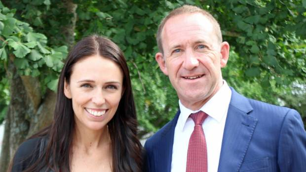 Ardern and Little in happier times.