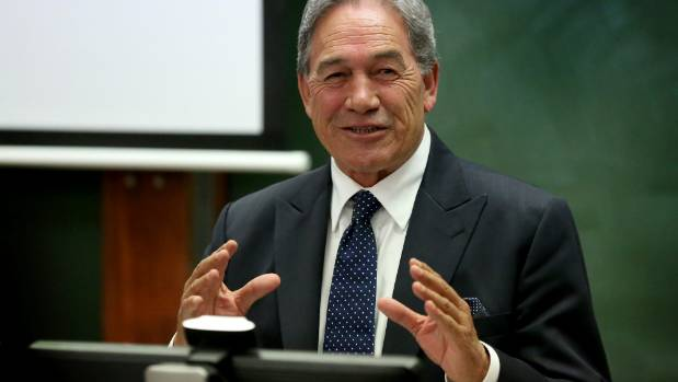 NZ First Leader Winston Peters carries documents from more than a decade ago around with him just in case he needs to ...