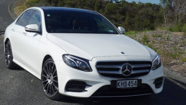 Key to E 400's appeal is the combination of a V6-petrol engine and all-wheel drive system.