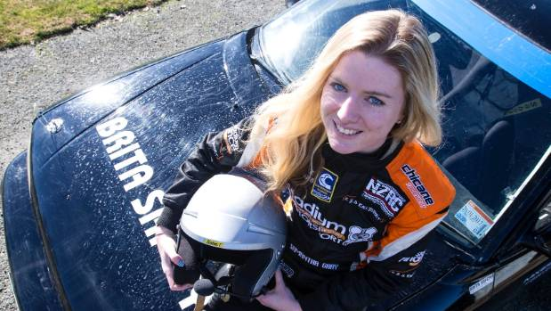 Co-driver Samantha Gray would eventually like to compete overseas.