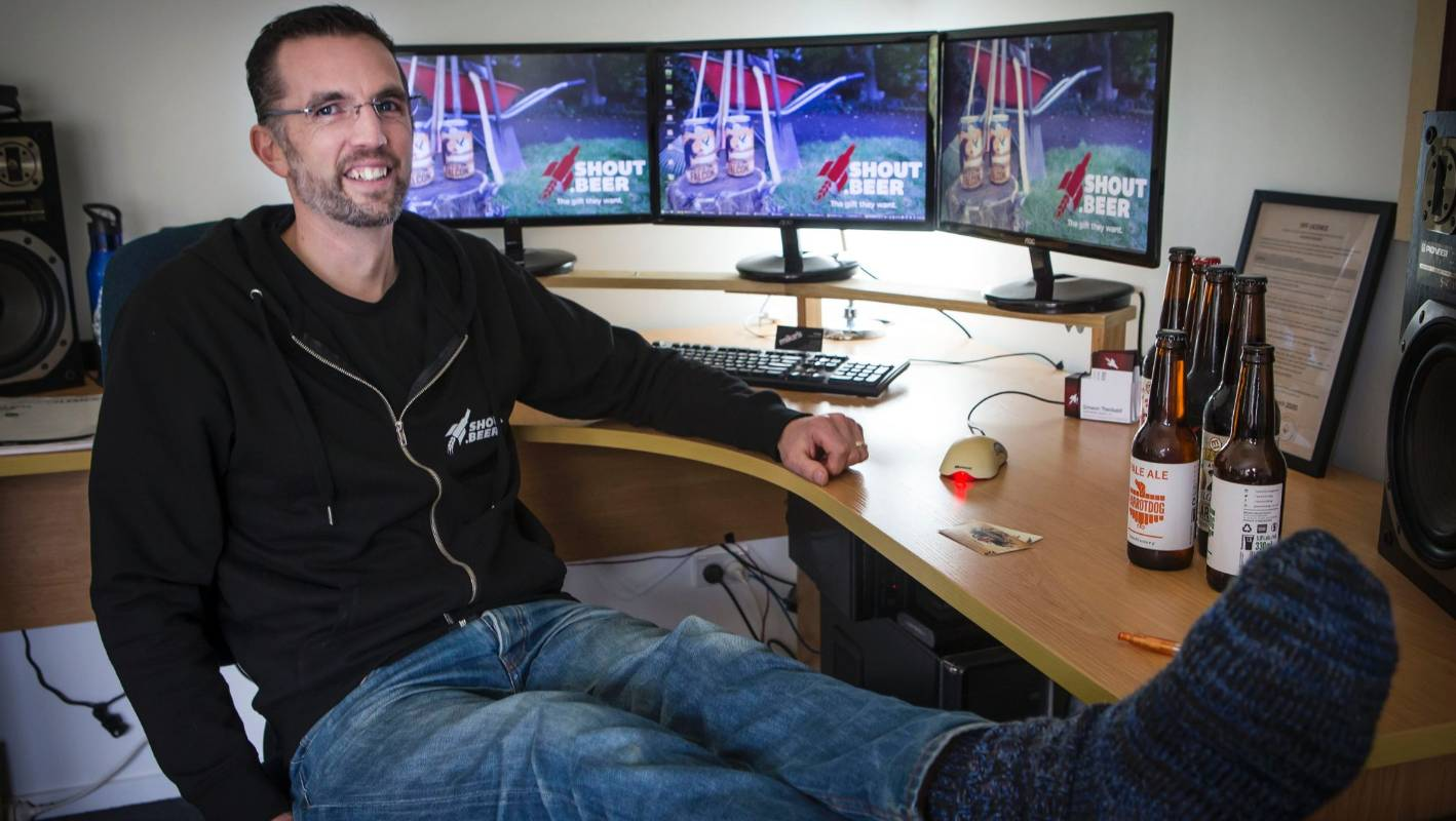 Mates can shout beer with new Taranaki-based gift delivery business