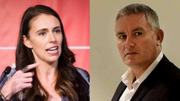 What's the reaction in Jacinda Ardern's electorate?