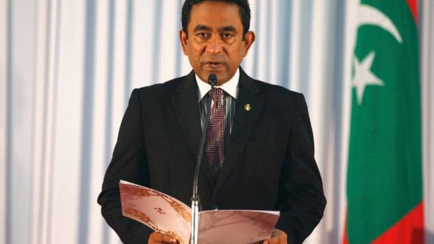 Abdulla Yameen, the Maldivian president.