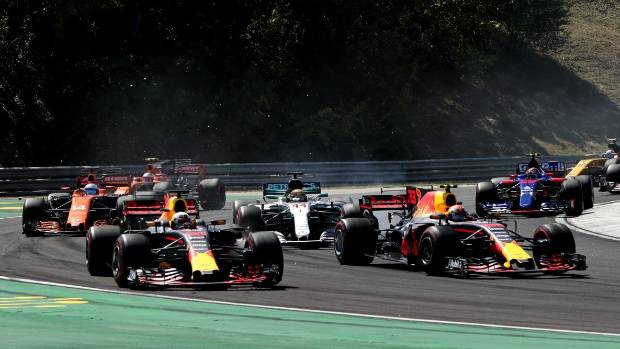 F1 Hungarian GP: Horner: Verstappen, Ricciardo clash was a racing incident