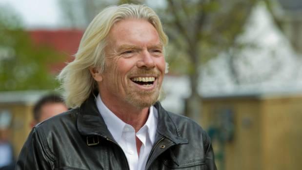 Richard Branson doesn't take no for an answer. Classic Rebel.