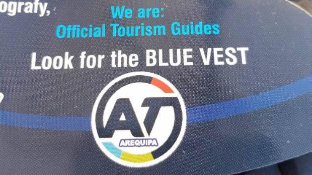 Amazing Tours Arequipa have copied AT's signature logo.