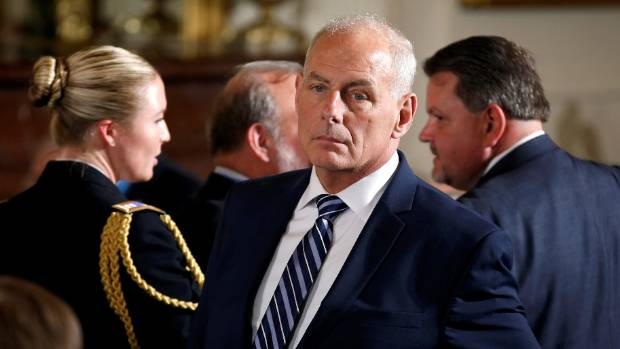 Homeland security secretary replaces Priebus at White House