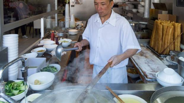 Chefs hard at work at Toronto's King's Noodle restaurant
