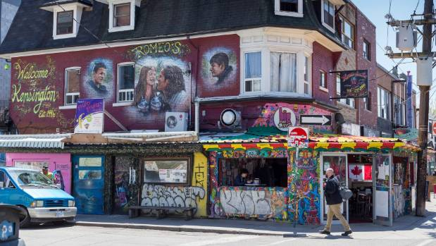 The Kensington Market neighbourhood is scruffy but loved by the cool kids.