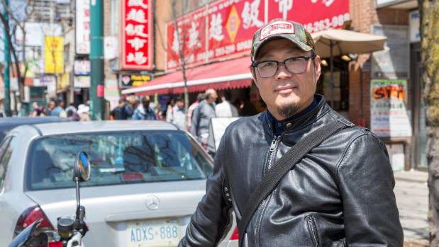 John Lee, the impossibly cool Toronto chef and sometimes culinary tour guide.