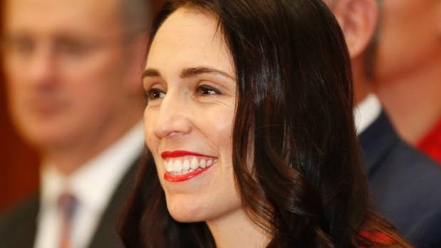 Jacinda Ardern promises relentless positivity and a new stamp on the Labour leadership.