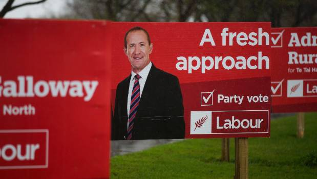 Labour's taking a fresh approach with new leader Jacinda Ardern, instead of Andrew Little.