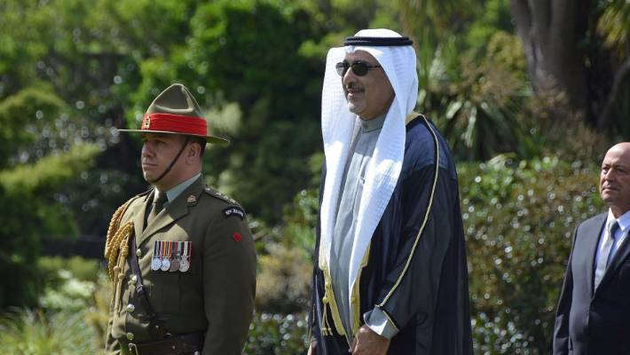 Kuwait's current ambassador to New Zealand Ahmad Salem Alwehaib at Government House in October, 2016.
