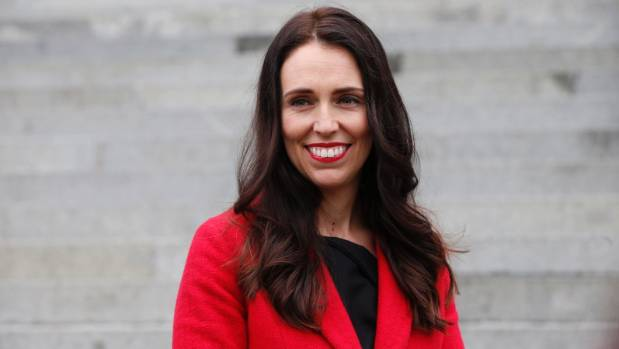 New Zealand opposition leader Jacinda Ardern rebukes TV hosts over maternity leave