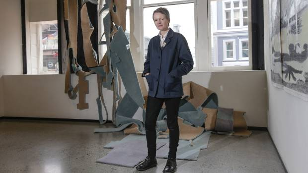 """Lillico was amazed to learn she had won the $20,000 Parkin Drawing Prize. """"I had to sit down on the couch."""""""