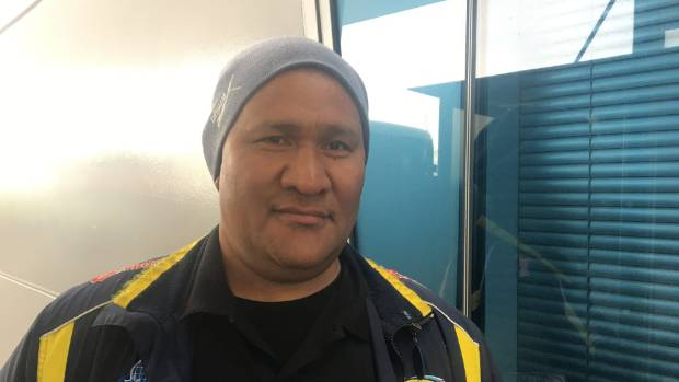Pai Pisa, 48, from Porirua, said he will vote for Jacinda Ardern based on her picture.