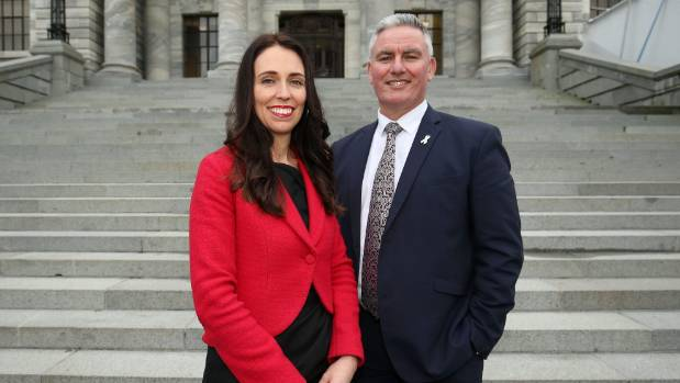 "Asked what he has that Ardern doesn't, Davis said ""good looks, charm, and a taste of Ngapuhi""."