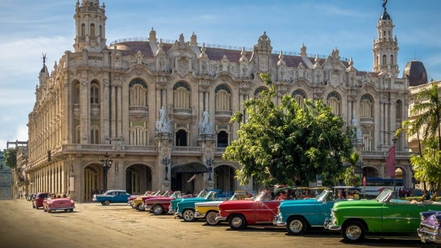 You won't find a car made later than 1959 in Cuba.