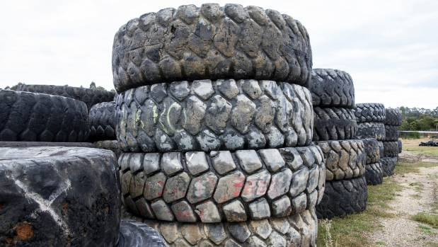 The last remaining tyres dumped on Kawerau District Council land have been removed, ending a two-year saga.