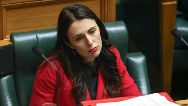 Jacinda Ardern took her seat with a careful mix of focus, vigour and the right amount of reluctance.