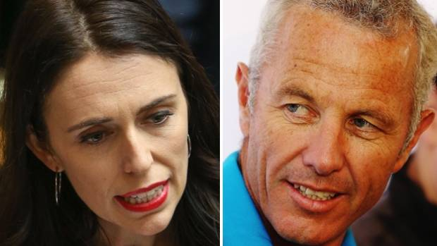 """Jacinda Ardern: """"It is a woman's decision about when they choose to have children"""". Mark Richardson: """"I think this is a ..."""