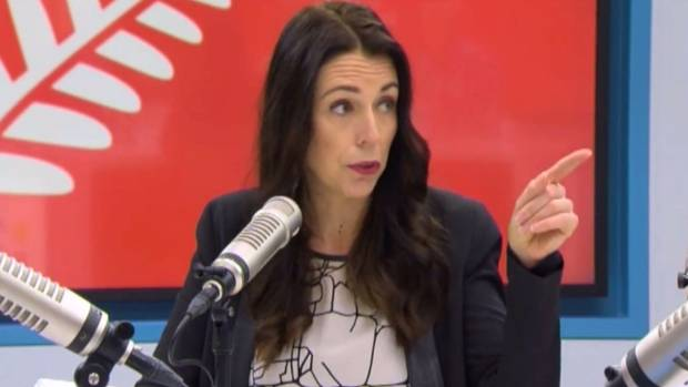 New Labour leader Jacinda Ardern addresses The AM Show presenter Mark Richardson's assertion that asking her whether she