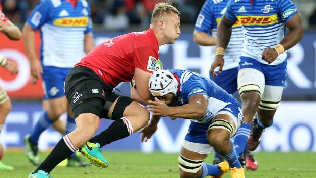 Lions No 8 Ruan Ackermann has a simple philosophy - run over people.
