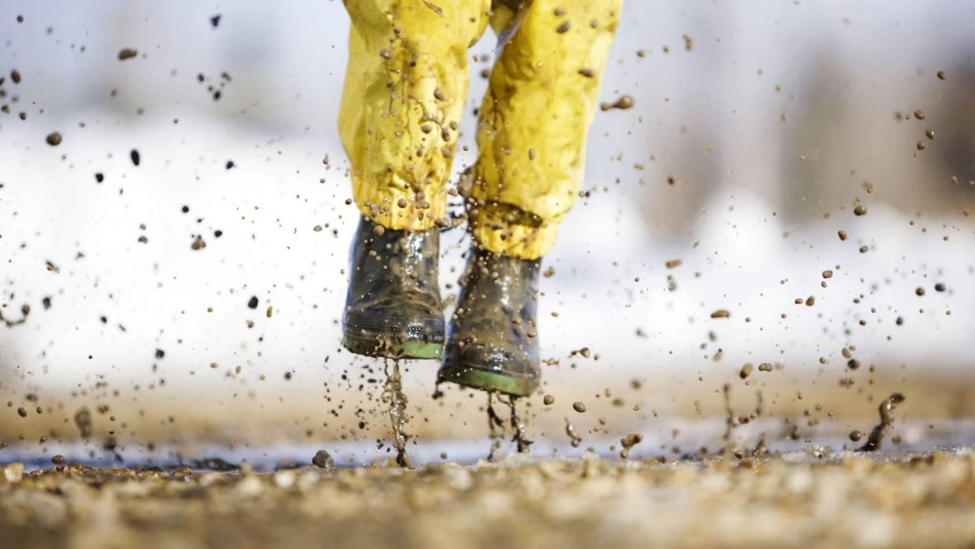 Дождь и грязь картинка