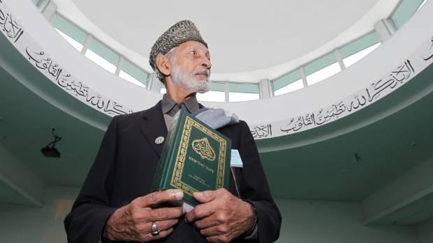 Shakil Ahmad Monir with a copy of the translated the Koran into Maori (file photo).
