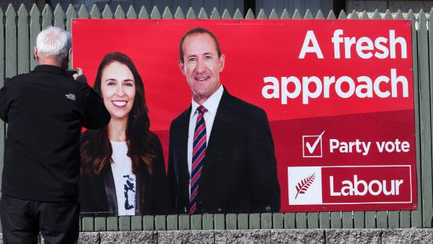 Labour's billboards and campaign slogan were early casualties of its leadership change.