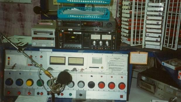The Radio Massey setup in 1991.