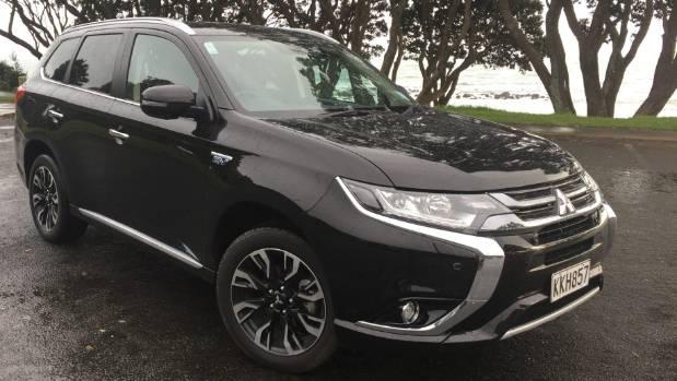 The Mitsubishi Outlander PHEV, New Zealand's most popular electrified vehicle.