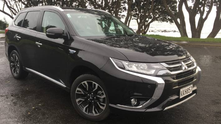Mitsubishi Outlander Phev Is Plugged Into The Future