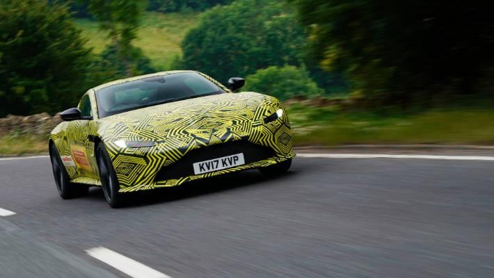 Camouflaged Aston Martin Vantage Set To Be James Bond S New Ride