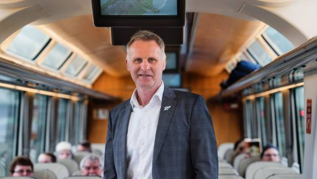 KiwiRail chief executive Peter Reidy says the Main North Line to Kaikoura should be fully operational by mid-2018.
