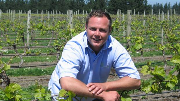 Southern Boundary Wines Ltd director Scott Berry.