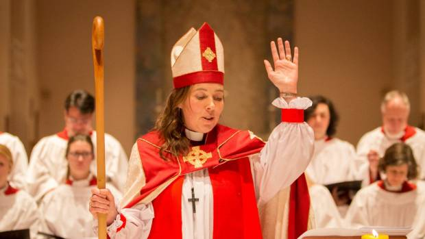 The Right Reverend Dr Eleanor Sanderson became Wellington's first female bishop in June.