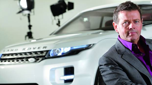 Land Rover's chief design officer Gerry McGovern with the Evoque, the first truly city-friendly Range Rover.
