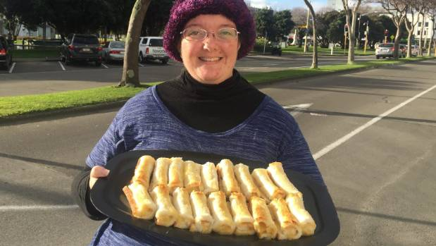 Just Zilch founder Rebecca Culver is selling cheese rolls for as a fundraiser for the food store charity.
