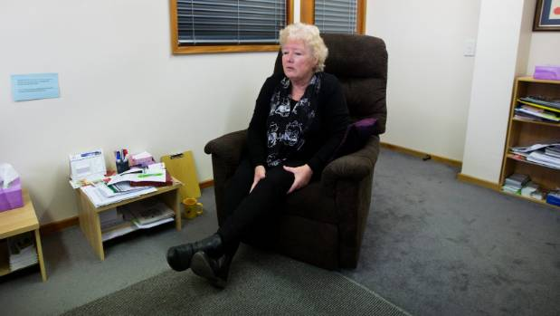 Huitson says she draws on her own experience to help others.