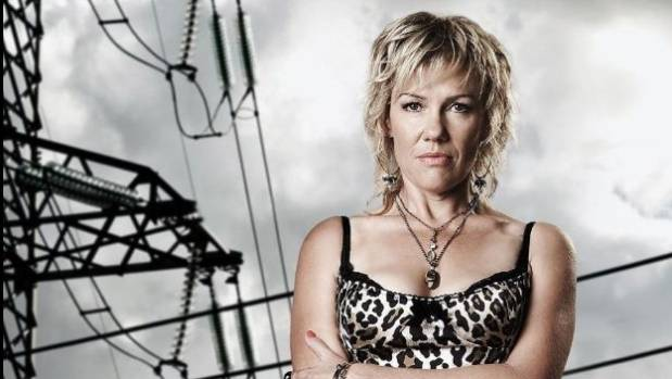 Robyn Malcolm played Cheryl West in six seasons of Outrageous Fortune.