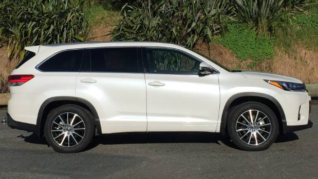 The Toyota Highlander Limited - one smooth operator.
